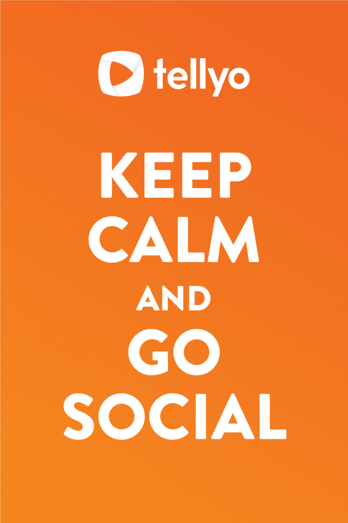 Tellyo - keep calm and go social with your broadcast!