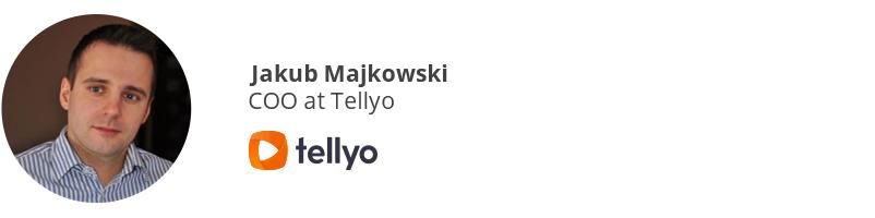 Jakub Majkowski, COO at Tellyo