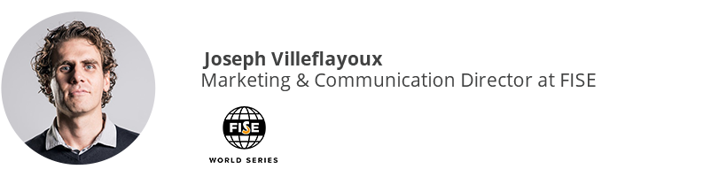 Joseph Villeflayoux, Marketing & Communication Director at FISE