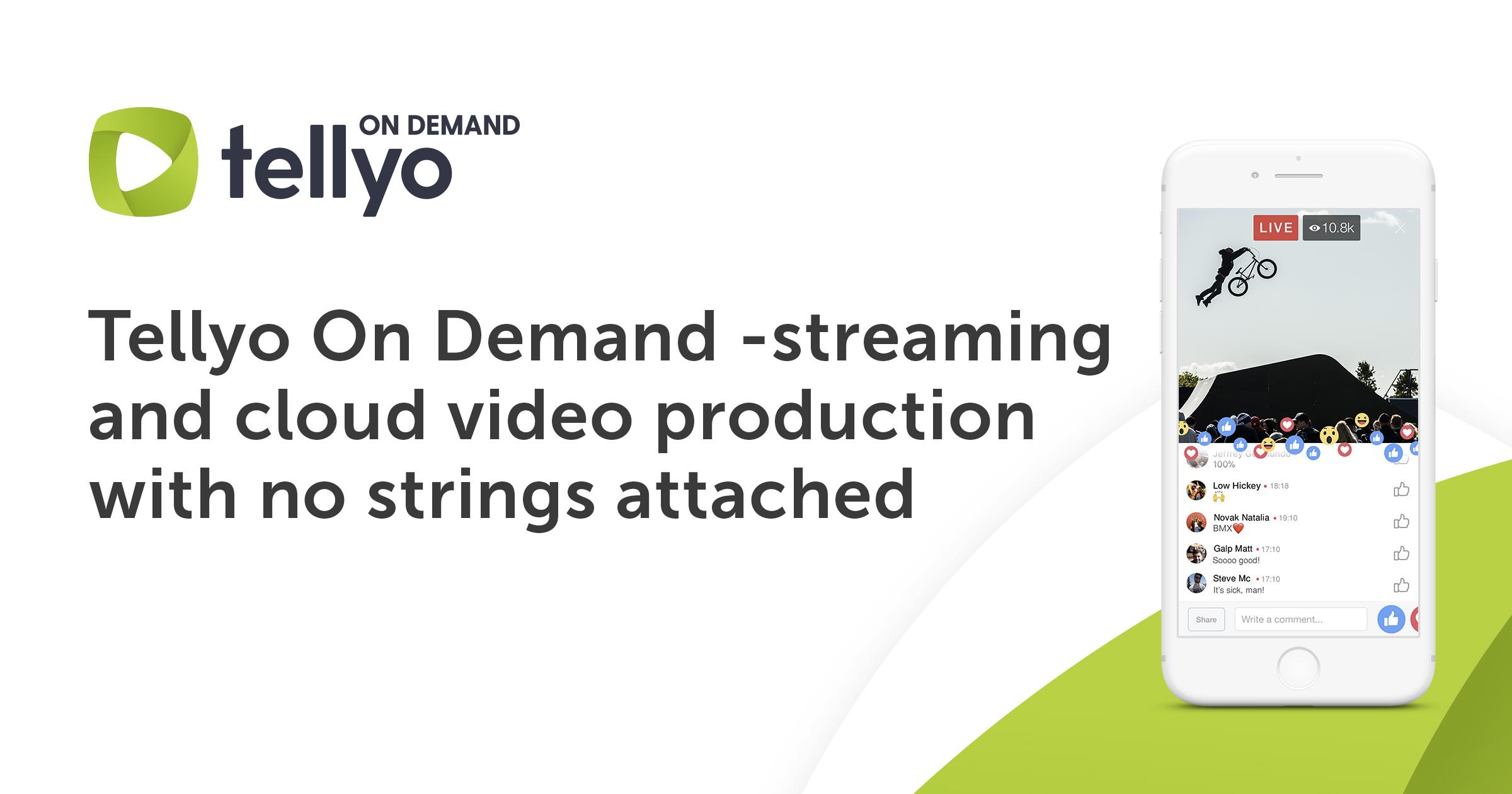 Tellyo On Demand