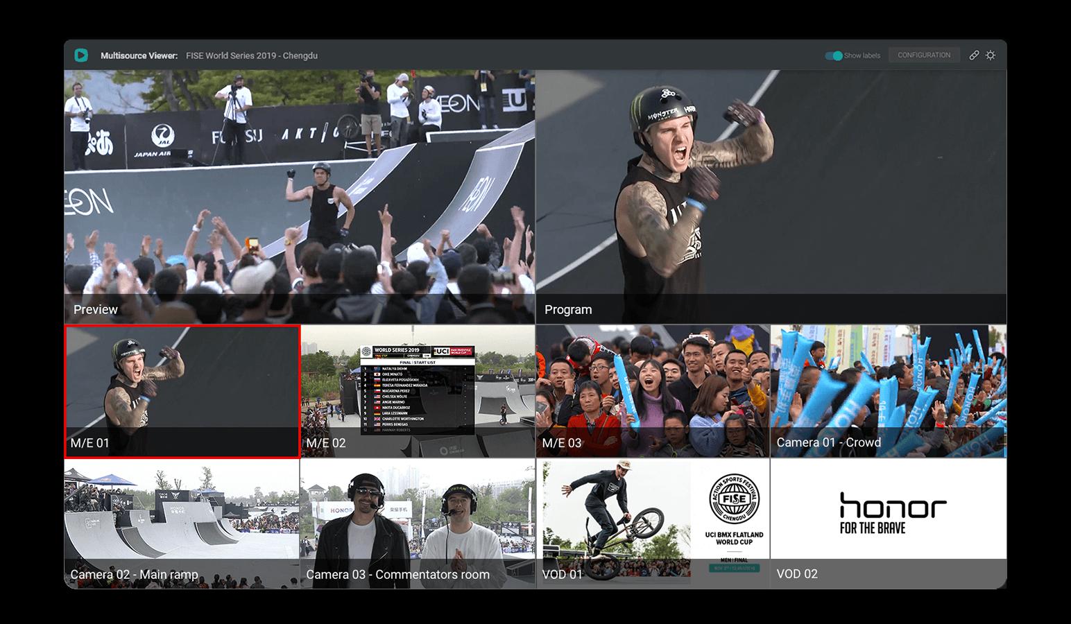 Stream Studio - Multi-viewer